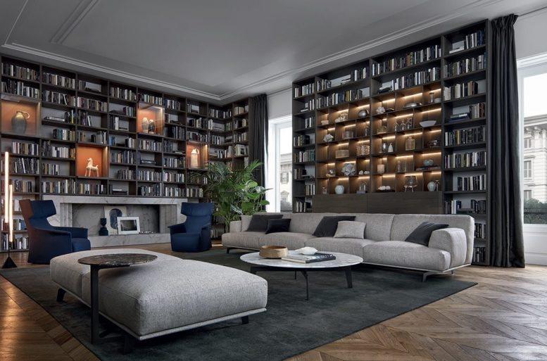 Sistema libreria Wall System