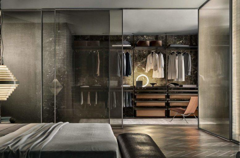 Progetta la tua cabina armadio da ballarini interni a - Interni per cabine armadio ...