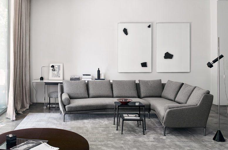 I divani della collezione b b italia da ballarini interni for Marche divani italia
