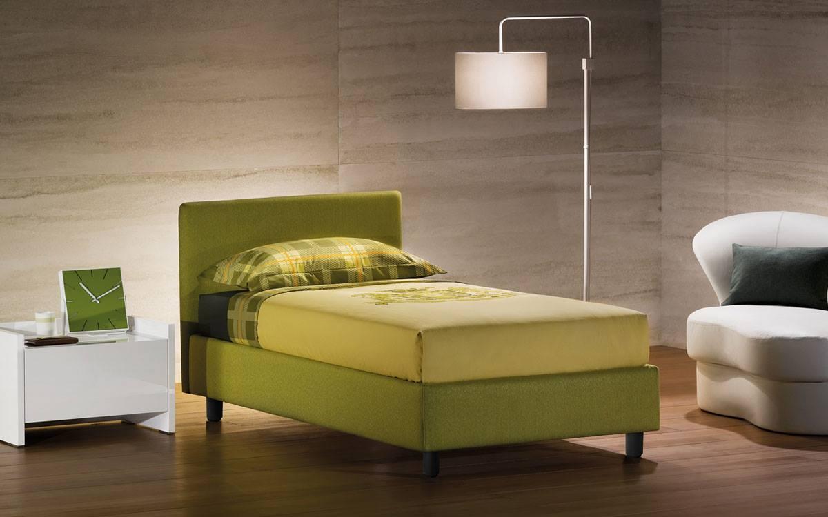 Ad ogni letto il proprio colore ballarini interni - Letto flou singolo ...
