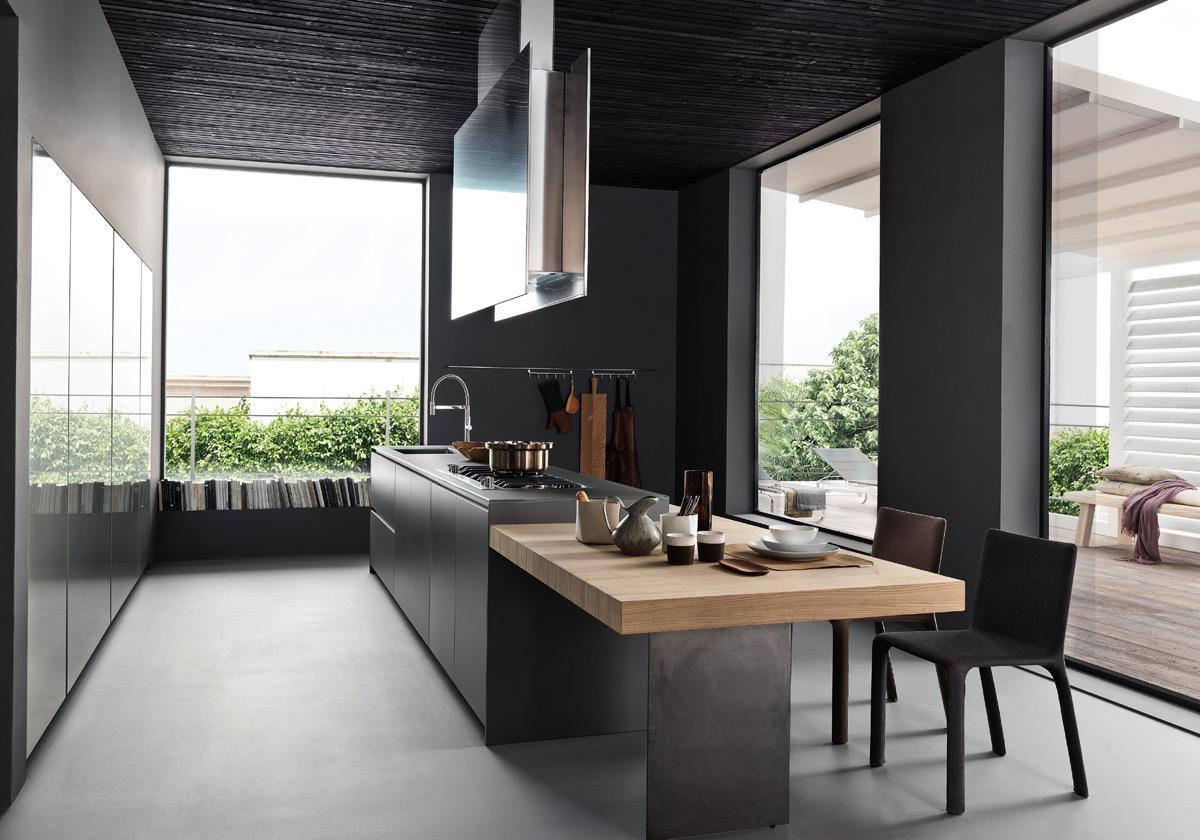La cucina in vetro ballarini interni ballarini interni - Cucine in vetro ...