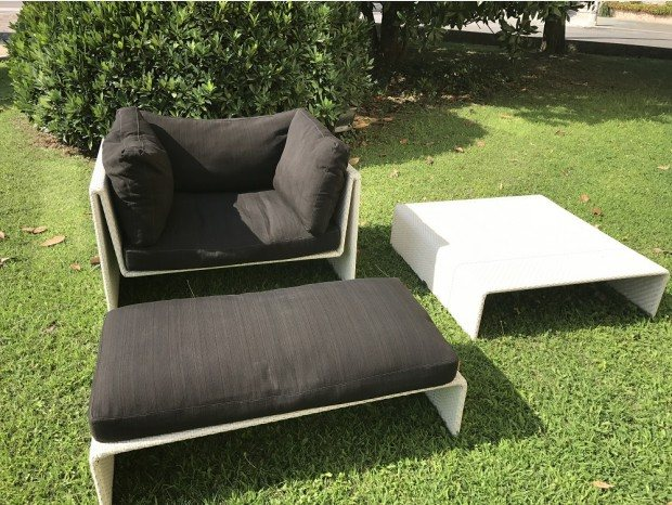 Relax area by Dedon Outdoor